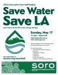 Save Water - Save LA